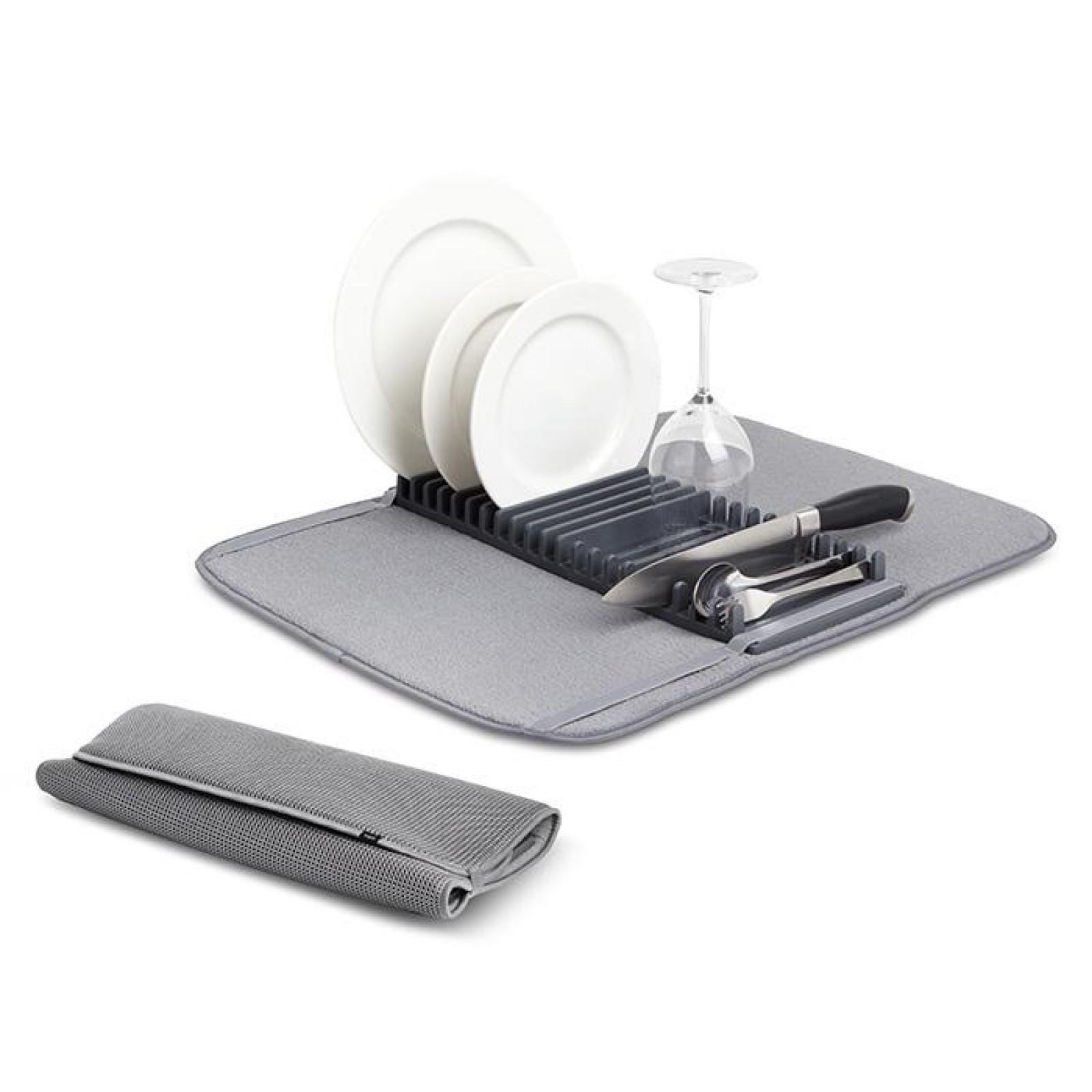 Udry Foldable Drying Mat (Charcoal) - Umbra