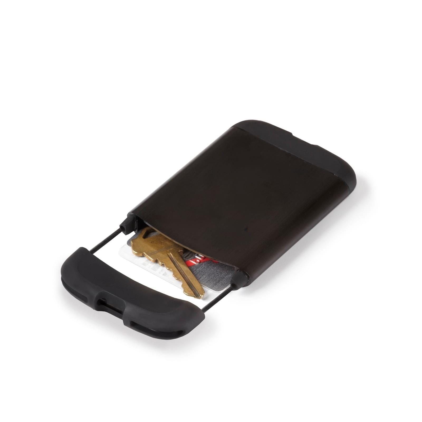 Bungee RFID-Blocking Card Holder Wallet (Black) - Umbra