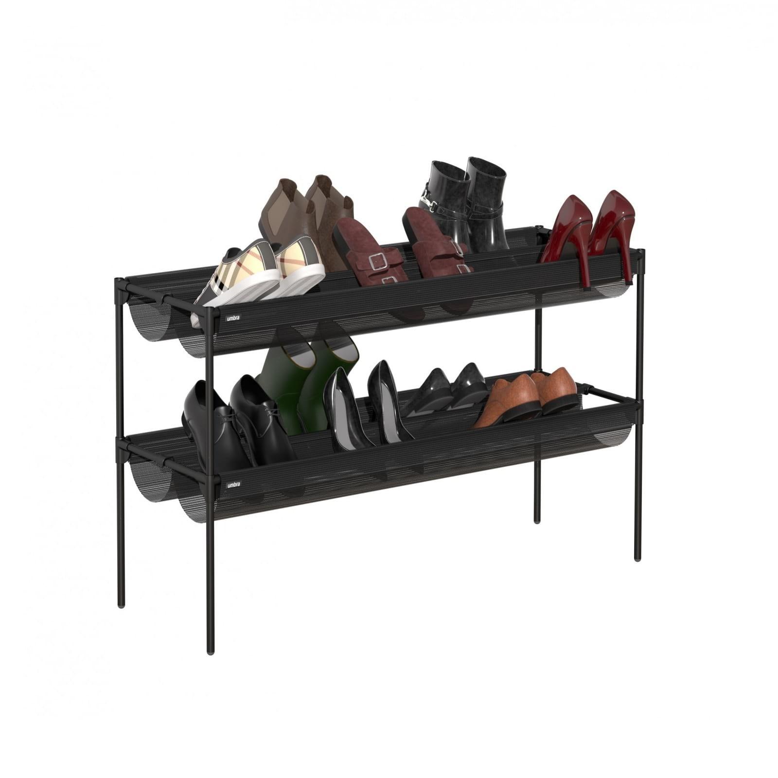 Shoe Sling Stacking Shoe Rack Organizer - Umbra