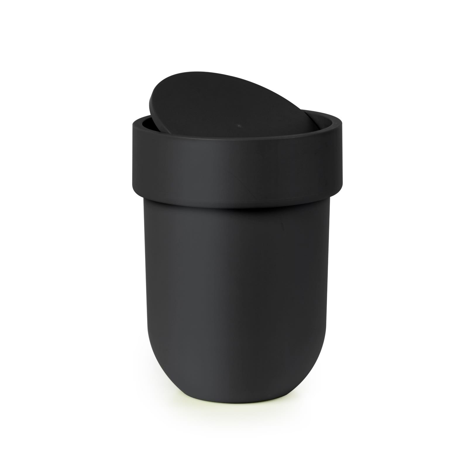 Touch Waste Can With Lid (Black) - Umbra