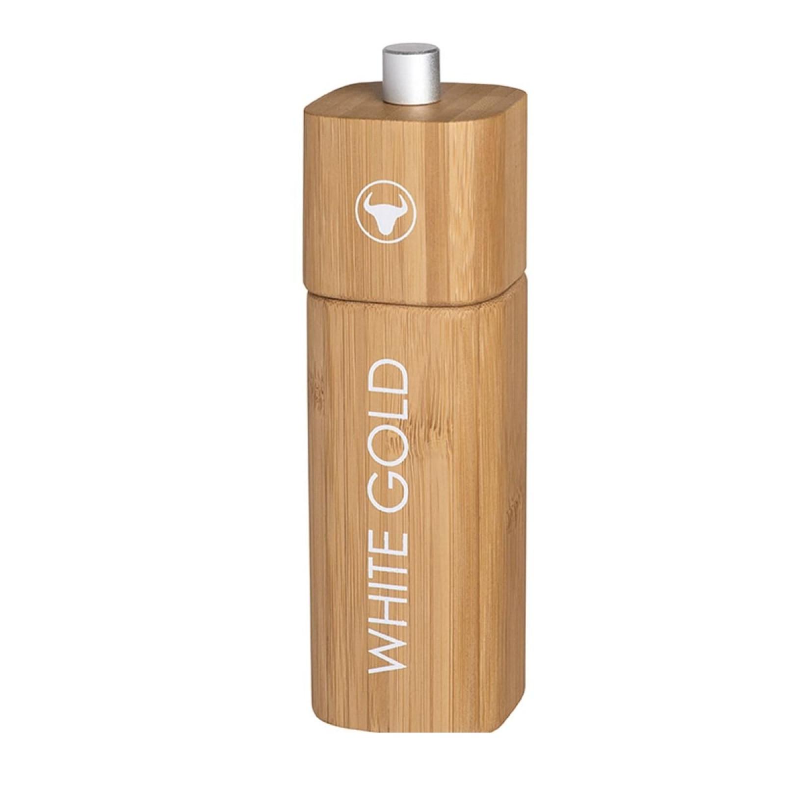 WHITE GOLD Salt Mill (Bamboo) - Raeder