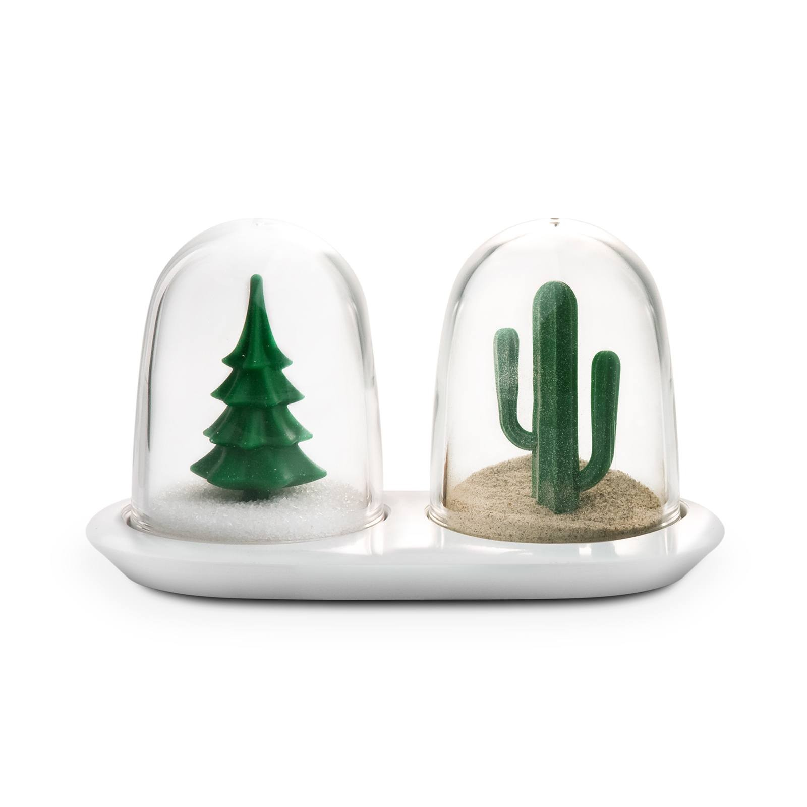 Winter And Summer Salt & Pepper Shakers (Set of 2) - Qualy
