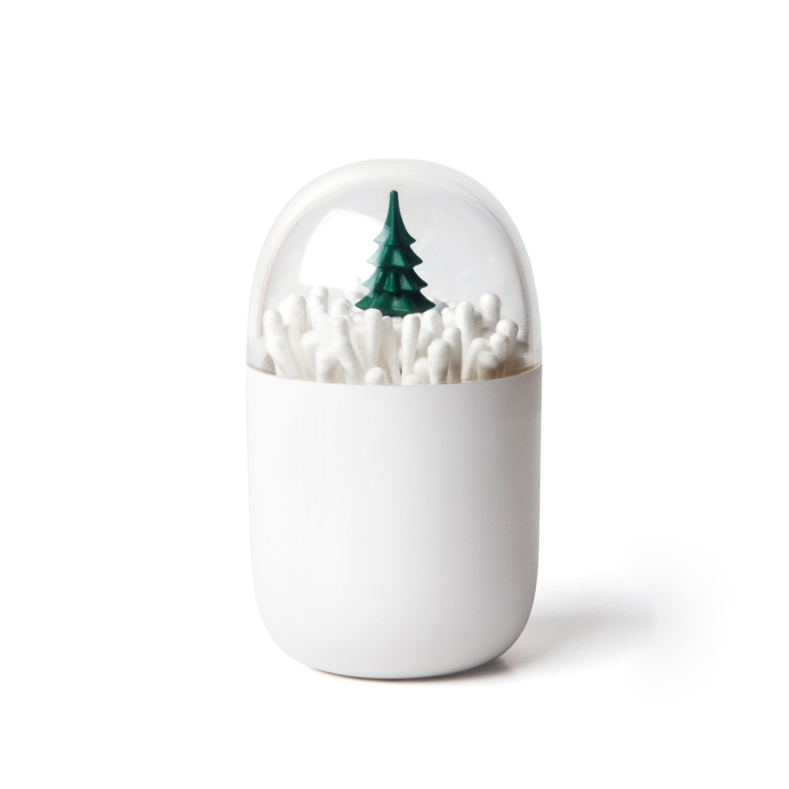 Wintertime Cotton Bud Holder - Qualy