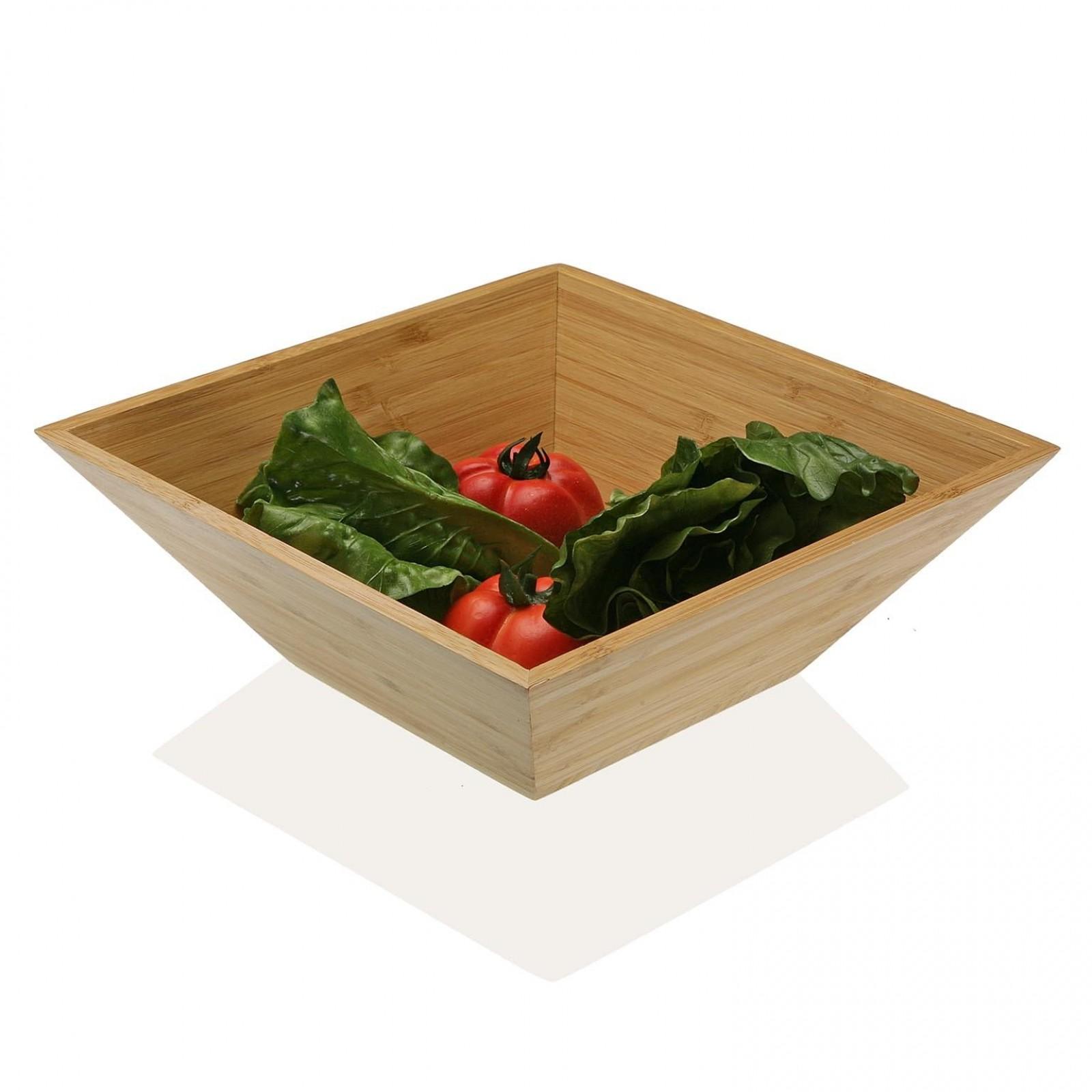Wooden Salad / Fruit Bowl (Bamboo) - Versa