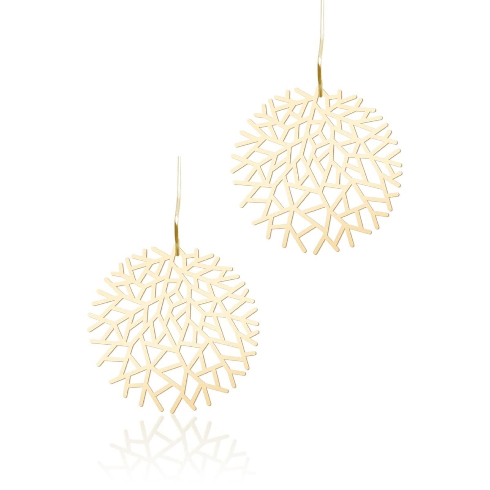 Woods Earrings S (Gold) - Moorigin