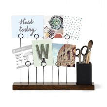 Gala Photo Display (Black / Walnut) - Umbra