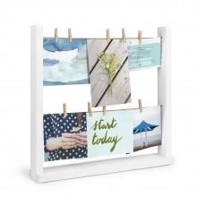 Hangit Desktop Photo Display (White) - Umbra