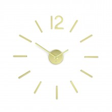 Blink Wall Clock (Brass) - Umbra