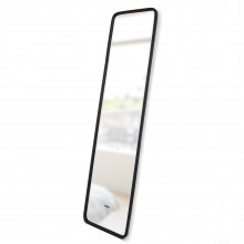 Hub Leaning Mirror (Black) - Umbra