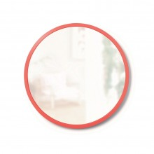 Hub Wall Mirror 18 Inch (Coral) - Umbra