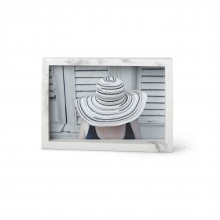 Edge Photo Display - 10 x 15 cm (Marble) - Umbra