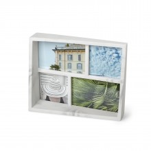 Edge Multi Desk Photo Frame (Marble) - Umbra