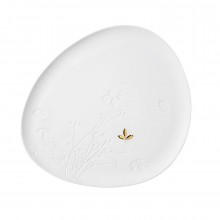 Golden Leaf Large Plate - Raeder