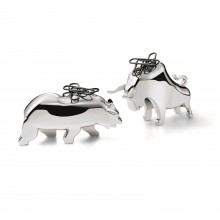 BULL & BEAR Paperclip Holders - Philippi