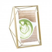 Prisma Photo Display 13 x 18 cm (Mat Brass) - Umbra