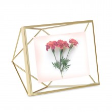 Prisma Photo Display 10 x 15 cm (Mat Brass) - Umbra