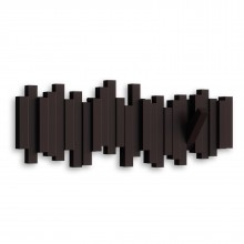 Sticks Multi Hook Coat Rack (Espresso) - Umbra