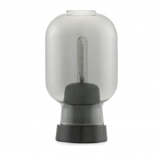 Amp Table Lamp (Smoke / Black) - Normann Copenhagen