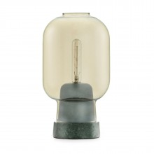 Amp Table Lamp (Gold / Green) - Normann Copenhagen