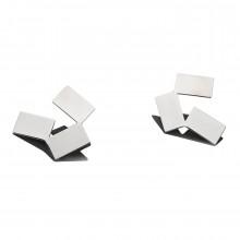 Alisei Earrings (Stainless Steel) - Alessi