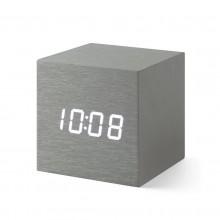 Alume Cube Alarm Clock (Aluminum) - MoMa