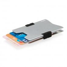 Aluminum RFID Anti-Skimming Minimalist Wallet (Silver)