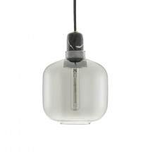 Amp Lamp Small (Smoke / Black) - Normann Copenhagen
