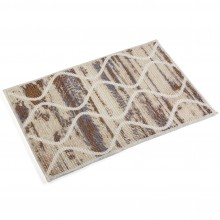 Anti-Slip Bathroom Mat (Brown Assorted) - Versa