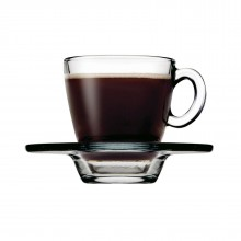 Aqua Espresso Cups & Saucers (Set of 6)
