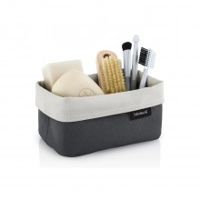 ARA Reversible Storage Basket M (Sand / Anthracite) - Blomus