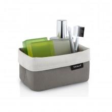 ARA Reversible Storage Basket M (Sand / Taupe) - Blomus