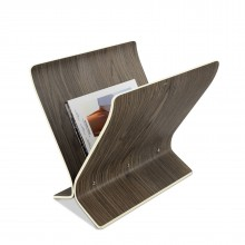 Arling Magazine Rack (Aged-Walnut) - Umbra