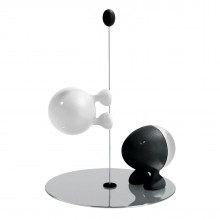 Lilliput Salt & Pepper Set (Black  /White) - Alessi