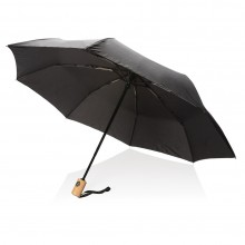 Automatic Folding Umbrella 21'' RPET (Black) - XD Design
