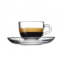 Basic Espresso Cups & Saucers (Set of 6)