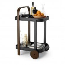 Bellwood Bar / Serving Cart (Black / Walnut) - Umbra