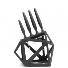Black Diamond Knife Block XL - Edge of Belgravia