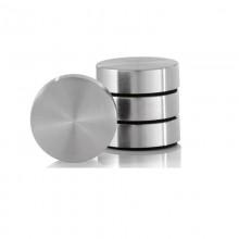 Muro Magnet Set (4 pcs) Stainless steel matt - Blomus