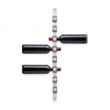 Cioso 8 Bottle Wall Mounted Wine Rack (Matt Steel) - Blomus