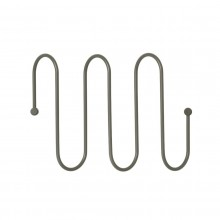 CURL Coat Rack M (Steel Gray) - Blomus