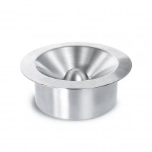 MARY Ashtray with Lid (Stainless Steel Matt) - Blomus