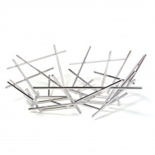 Blow up Basket (Stainless Steel) - Alessi