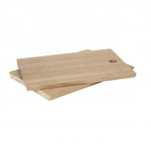 BORDA Set of 2 Breakfast Boards (Oak Wood) - Blomus