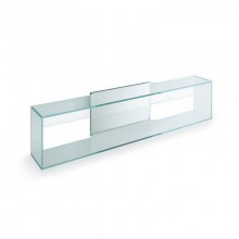 Brama 1 Glass Wall Shelf - Tonelli Design