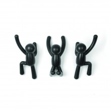Buddy Hook Set of 3 (Black) - Umbra