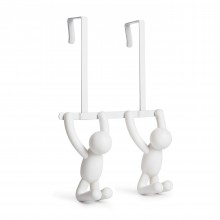 Buddy Over The Door /  Wall Hook (White) - Umbra