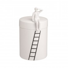 CAN MAN Porcelain Canister - Raeder