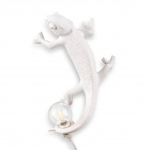 Chameleon Lamp Going Up (White) - Seletti