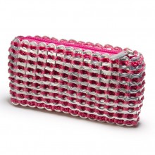 Chica Rosa Pop Top Mini Clutch (Pink) - Escama Studio