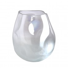 Collision Vase White - Pols Potten